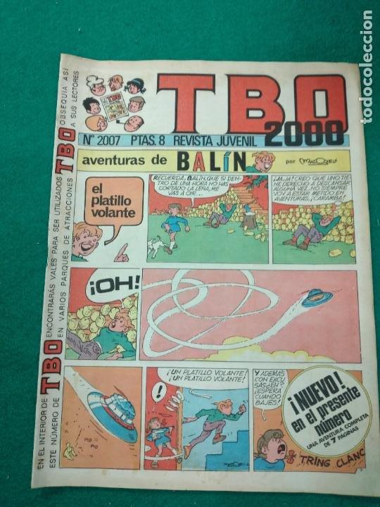TBO 2000 Nº 2007. BUIGAS (Tebeos y Comics - Buigas - TBO)