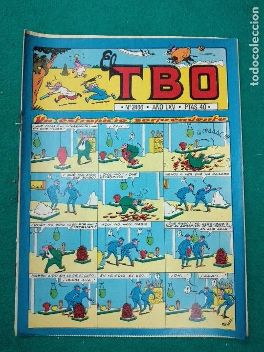 EL TBO Nº 2466. CON POSTER Nº 7 BABALI. BUIGAS (Tebeos y Comics - Buigas - TBO)