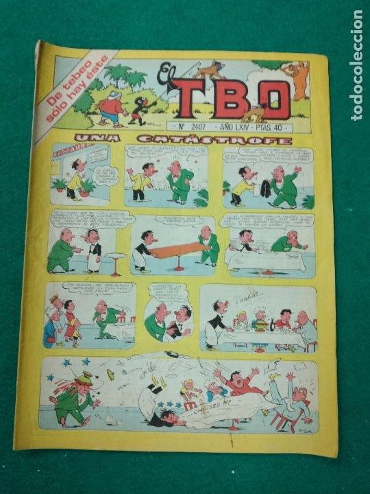 EL TBO Nº 2407.. BUIGAS (Tebeos y Comics - Buigas - TBO)
