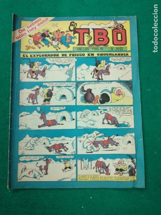 EL TBO Nº 2402.. BUIGAS (Tebeos y Comics - Buigas - TBO)