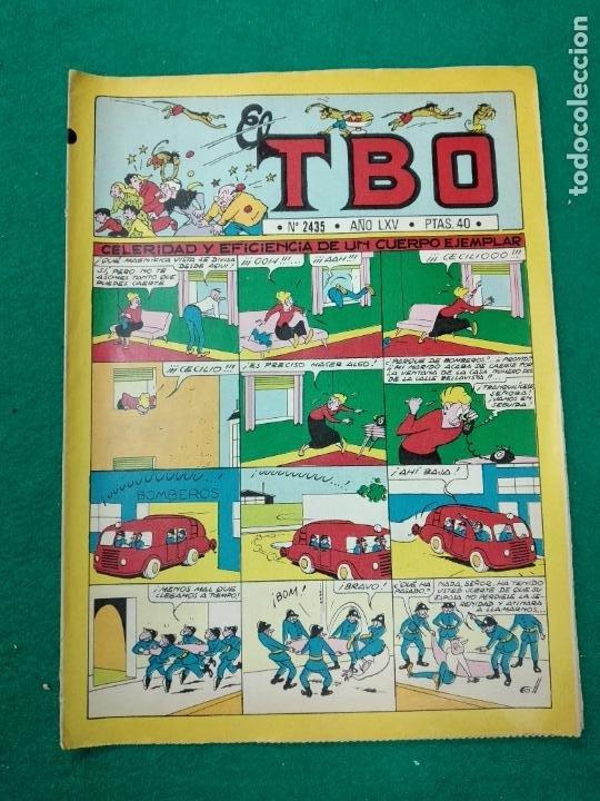 EL TBO Nº 2435.. BUIGAS (Tebeos y Comics - Buigas - TBO)
