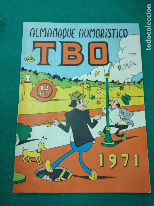 ALMANAQUE HUMORISTICO DE TBO 1971. BUIGAS (Tebeos y Comics - Buigas - TBO)