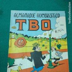 Tebeos: ALMANAQUE HUMORISTICO DE TBO 1971. BUIGAS. Lote 253795645