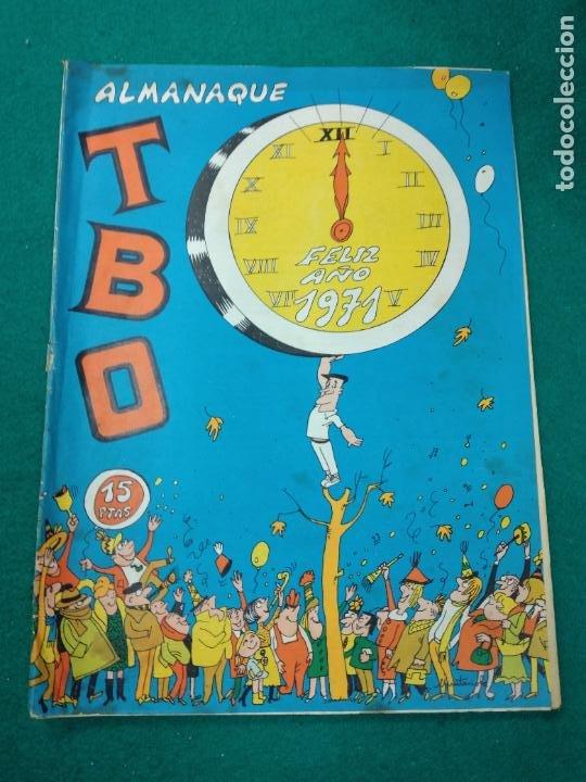 ALMANAQUE TBO FELIZ AÑO 1971. BUIGAS (Tebeos y Comics - Buigas - TBO)