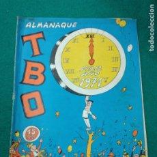 Tebeos: ALMANAQUE TBO FELIZ AÑO 1971. BUIGAS. Lote 253795830