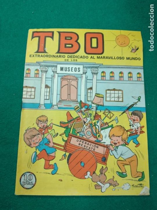 TBO EXTRAORDINARIO DEDICADO AL MARAVILLOSO MUNDO DE LOS MUSEOS. BUIGAS 1969 (Tebeos y Comics - Buigas - TBO)