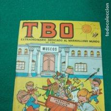 Tebeos: TBO EXTRAORDINARIO DEDICADO AL MARAVILLOSO MUNDO DE LOS MUSEOS. BUIGAS 1969. Lote 253797150