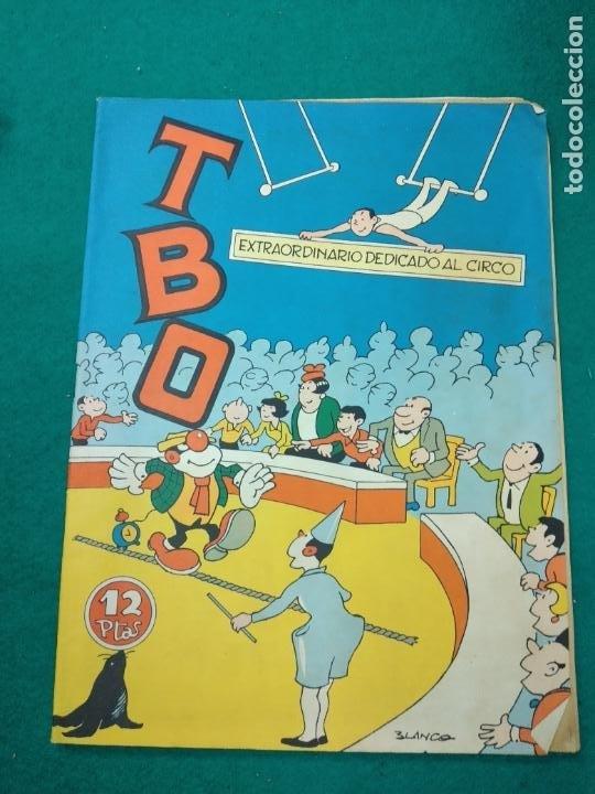 TBO EXTRAORDINARIO DEDICADO AL CIRCO. BUIGAS (Tebeos y Comics - Buigas - TBO)