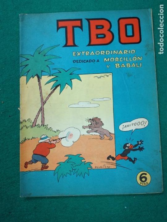 TBO EXTRAORDINARIO DEDICADO A MORCILLON Y BABALI. BUIGAS (Tebeos y Comics - Buigas - TBO)