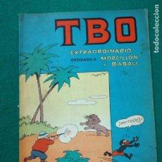 Tebeos: TBO EXTRAORDINARIO DEDICADO A MORCILLON Y BABALI. BUIGAS. Lote 253814400