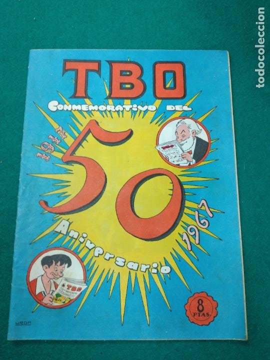TBO CONMEMORATIVO DEL 50 ANIVERSARIO 1961 - 1967 (Tebeos y Comics - Buigas - TBO)