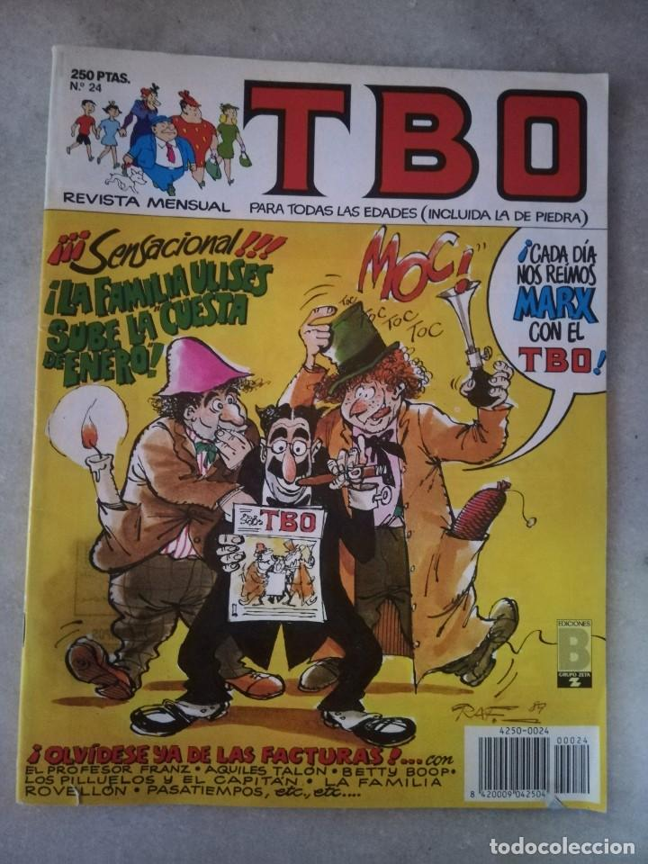 TBO Nº 24 Y 101 CON PEQUEÑOS DEFECTOS (Tebeos y Comics - Buigas - TBO)