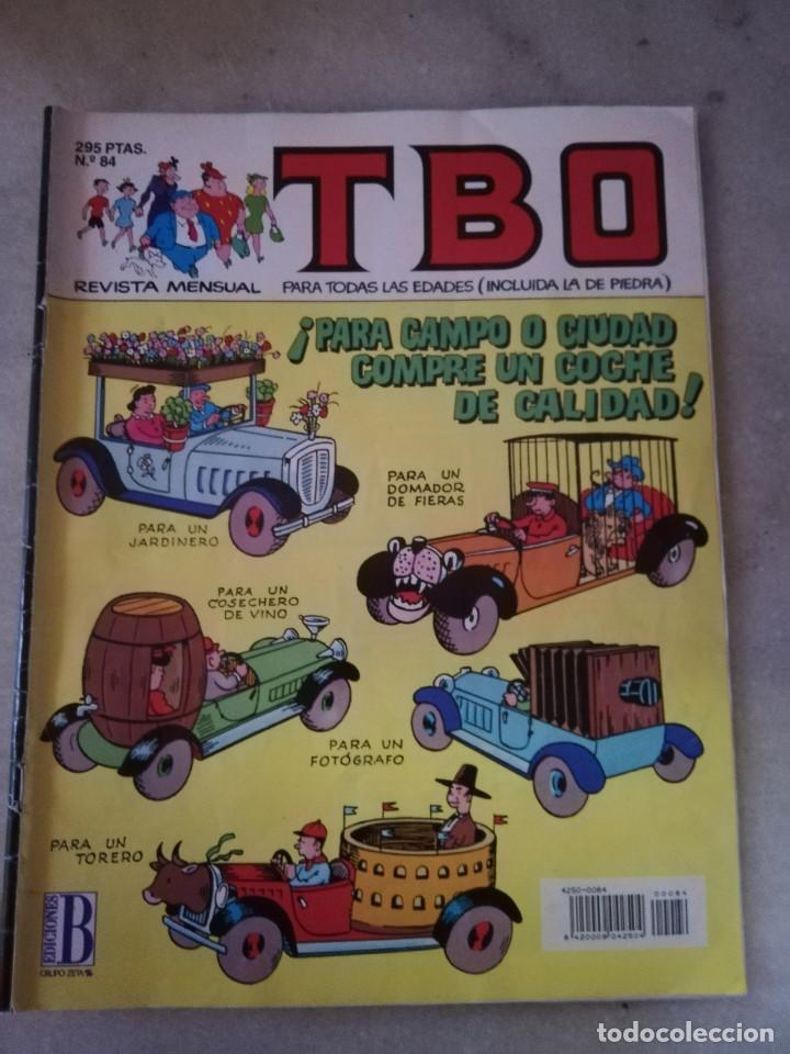 TBO Nº 84 (Tebeos y Comics - Buigas - TBO)