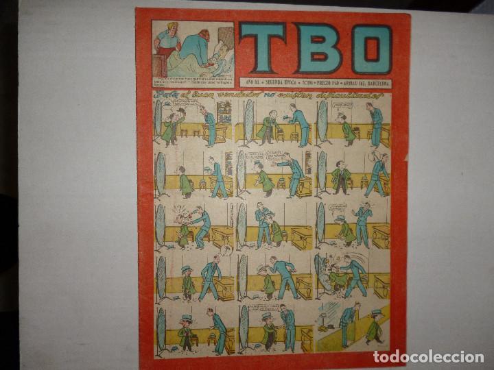 TBO Nº 104 - SEGUNDA ÉPOCA - PARA EL BUEN VENDEDOR NO EXISTEN DIFICULTADES - 1,40 PTS - (Tebeos y Comics - Buigas - TBO)
