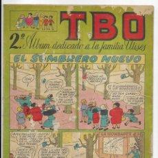Tebeos: T B O 2º ALBUM DEDICADO A LA FAMILIA ULISES.. Lote 254211090