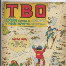 Tebeos: T B O EXTRA DEDICADO AL ESQUÍ Y DEMÁS DEPORTES INVERNALES 1977. Lote 254213815