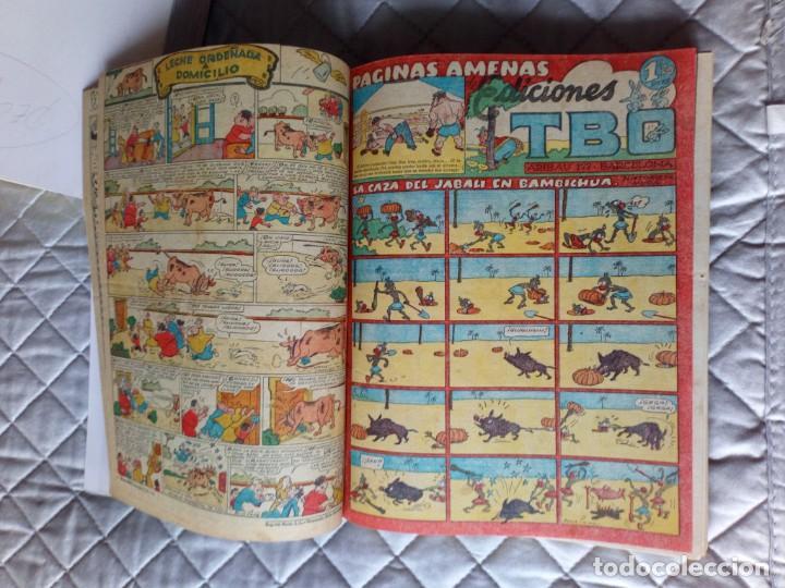 Tebeos: TBO sin numerar,ANTIGUOS Almanaques y 2ª Epoca.Lote de 20 Tebeos.en 1 tomo BUIGAS - Foto 3 - 254594180