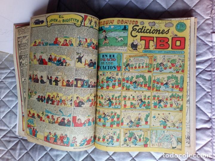 Tebeos: TBO sin numerar,ANTIGUOS Almanaques y 2ª Epoca.Lote de 20 Tebeos.en 1 tomo BUIGAS - Foto 5 - 254594180
