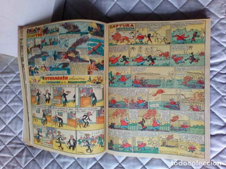 Tebeos: TBO sin numerar,ANTIGUOS Almanaques y 2ª Epoca.Lote de 20 Tebeos.en 1 tomo BUIGAS - Foto 6 - 254594180