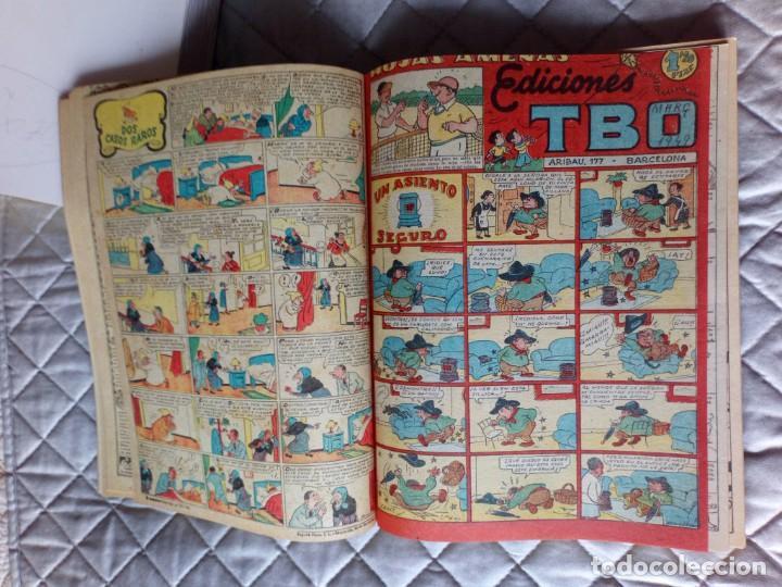 Tebeos: TBO sin numerar,ANTIGUOS Almanaques y 2ª Epoca.Lote de 20 Tebeos.en 1 tomo BUIGAS - Foto 7 - 254594180