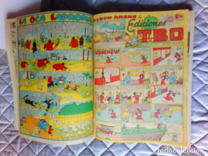 Tebeos: TBO sin numerar,ANTIGUOS Almanaques y 2ª Epoca.Lote de 20 Tebeos.en 1 tomo BUIGAS - Foto 9 - 254594180