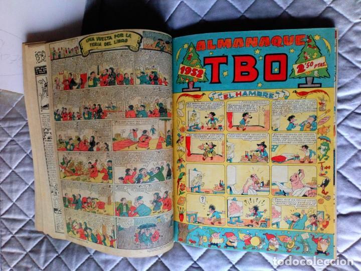 Tebeos: TBO sin numerar,ANTIGUOS Almanaques y 2ª Epoca.Lote de 20 Tebeos.en 1 tomo BUIGAS - Foto 10 - 254594180