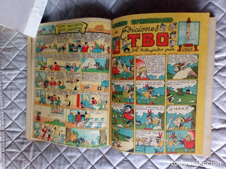 Tebeos: TBO sin numerar,ANTIGUOS Almanaques y 2ª Epoca.Lote de 20 Tebeos.en 1 tomo BUIGAS - Foto 11 - 254594180