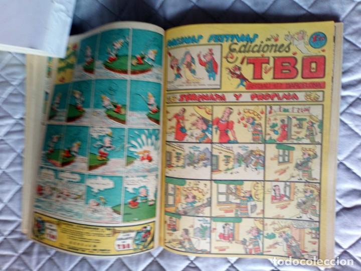 Tebeos: TBO sin numerar,ANTIGUOS Almanaques y 2ª Epoca.Lote de 20 Tebeos.en 1 tomo BUIGAS - Foto 12 - 254594180