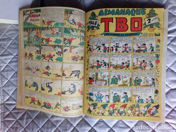 Tebeos: TBO sin numerar,ANTIGUOS Almanaques y 2ª Epoca.Lote de 20 Tebeos.en 1 tomo BUIGAS - Foto 13 - 254594180