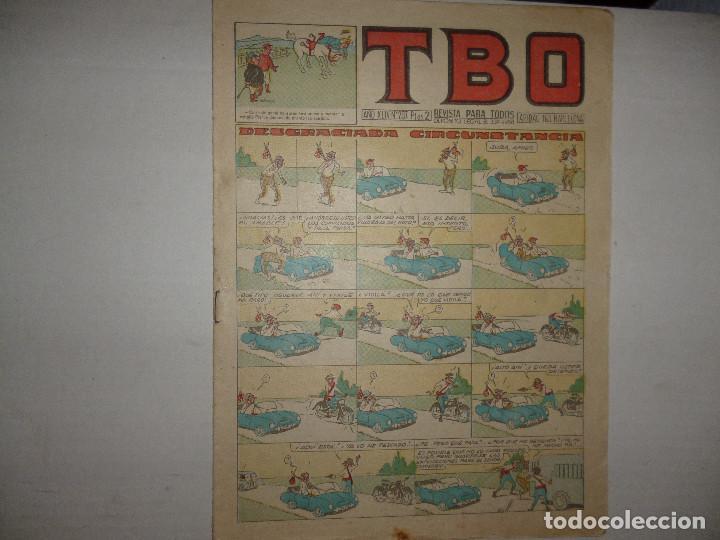 TBO Nº 207 - DESGRACIADA CIRCUNSTANCIA - 2 PTAS - (Tebeos y Comics - Buigas - TBO)