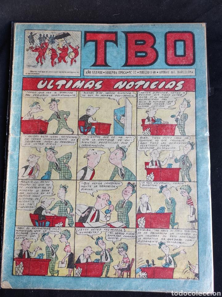 Tebeos: Lote TBO. 25 números+almanaque 1957+extra Morcillón y Babali. En su mayoría 2° época. - Foto 2 - 257403130