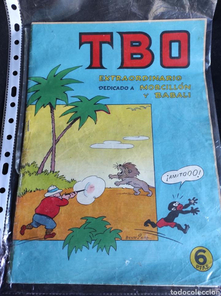 Tebeos: Lote TBO. 25 números+almanaque 1957+extra Morcillón y Babali. En su mayoría 2° época. - Foto 8 - 257403130