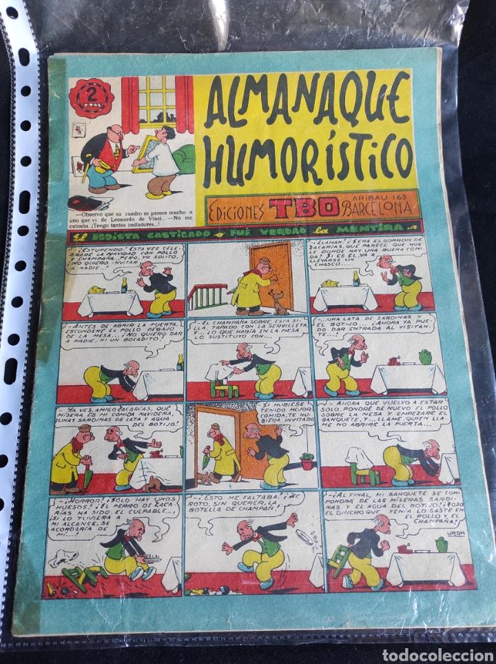 Tebeos: Lote TBO. 25 números+almanaque 1957+extra Morcillón y Babali. En su mayoría 2° época. - Foto 9 - 257403130