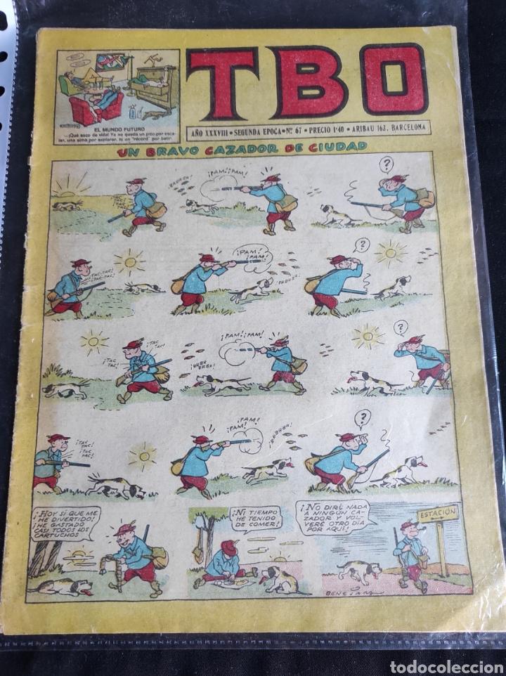Tebeos: Lote TBO. 25 números+almanaque 1957+extra Morcillón y Babali. En su mayoría 2° época. - Foto 13 - 257403130