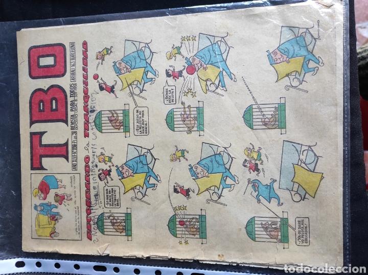 Tebeos: Lote TBO. 25 números+almanaque 1957+extra Morcillón y Babali. En su mayoría 2° época. - Foto 15 - 257403130