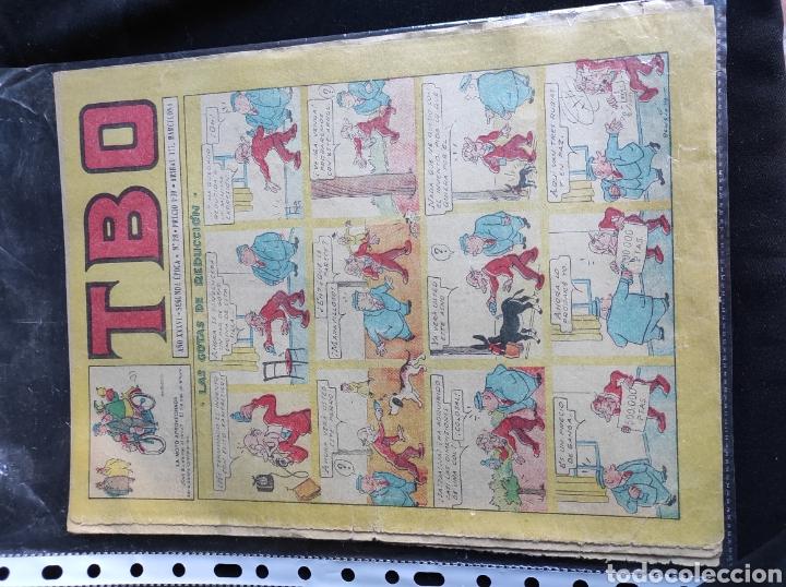Tebeos: Lote TBO. 25 números+almanaque 1957+extra Morcillón y Babali. En su mayoría 2° época. - Foto 17 - 257403130