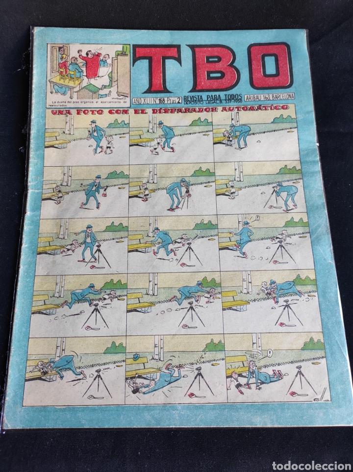 Tebeos: Lote TBO. 25 números+almanaque 1957+extra Morcillón y Babali. En su mayoría 2° época. - Foto 20 - 257403130
