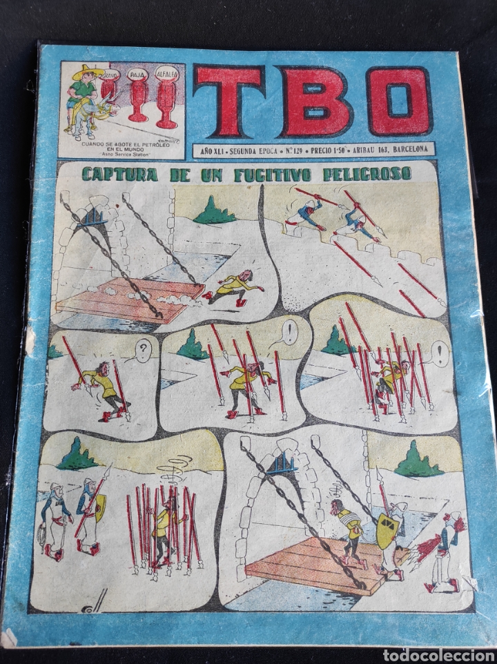 Tebeos: Lote TBO. 25 números+almanaque 1957+extra Morcillón y Babali. En su mayoría 2° época. - Foto 21 - 257403130