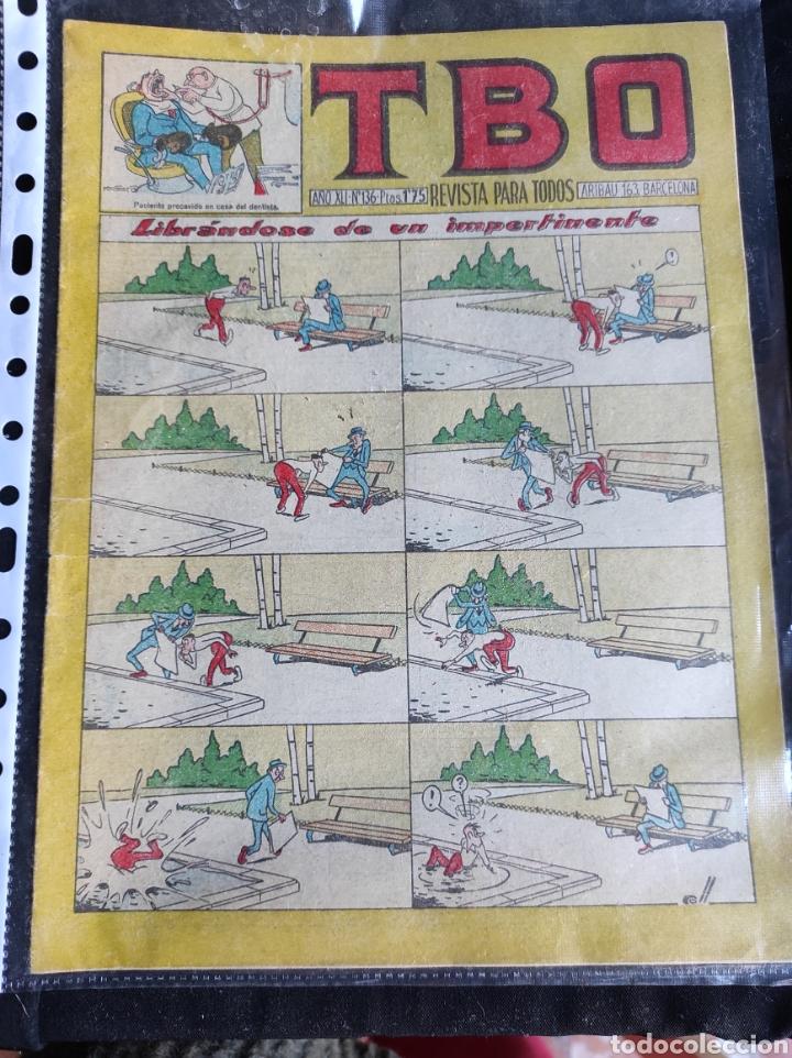 Tebeos: Lote TBO. 25 números+almanaque 1957+extra Morcillón y Babali. En su mayoría 2° época. - Foto 24 - 257403130
