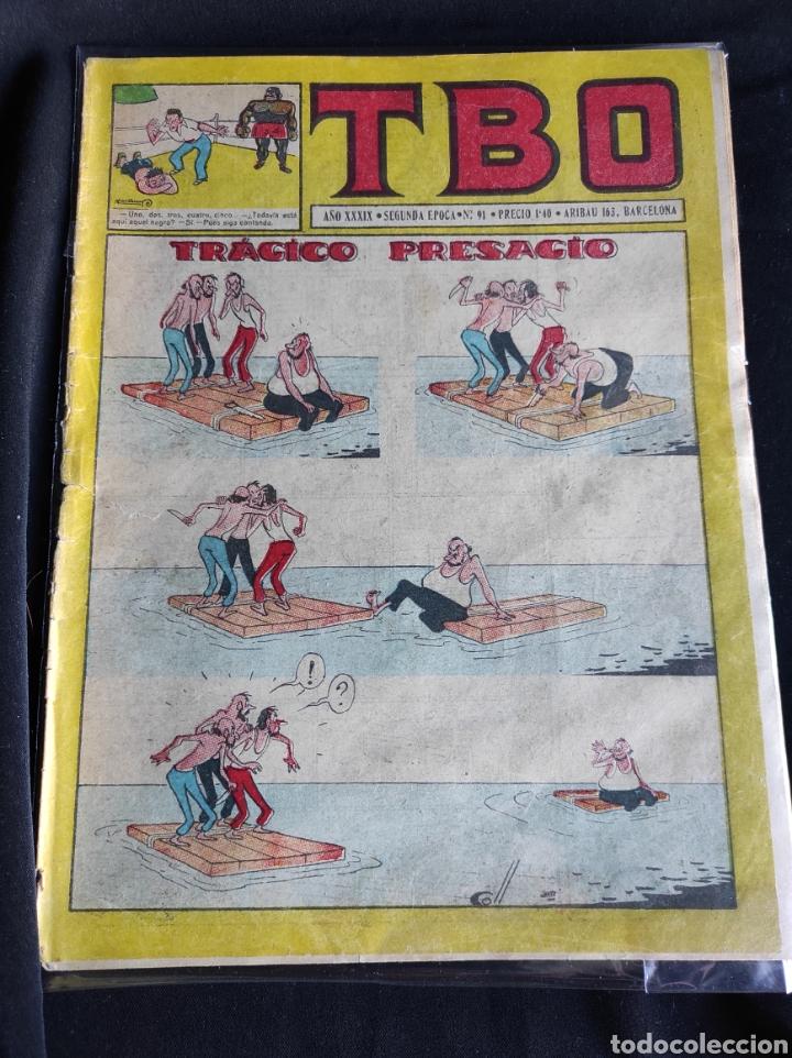 Tebeos: Lote TBO. 25 números+almanaque 1957+extra Morcillón y Babali. En su mayoría 2° época. - Foto 26 - 257403130