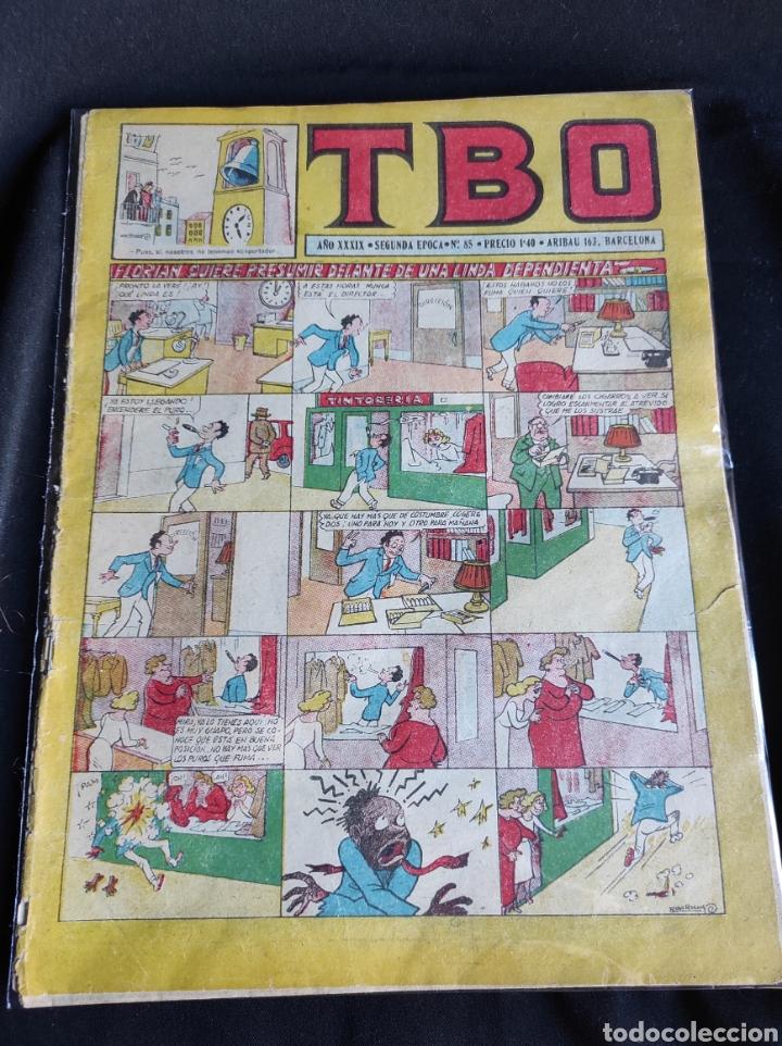Tebeos: Lote TBO. 25 números+almanaque 1957+extra Morcillón y Babali. En su mayoría 2° época. - Foto 27 - 257403130