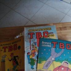 Livros de Banda Desenhada: LOTE 15 TBO(13 ALMANAQUES) Y N° 1 Y 100. Lote 258133845