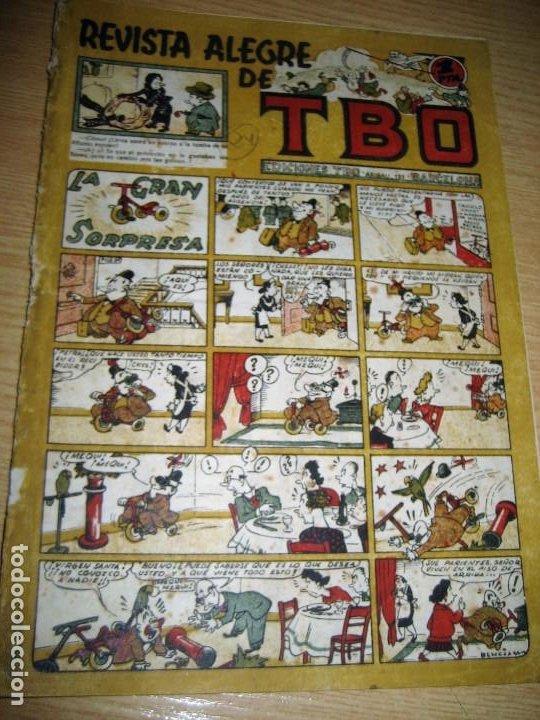 REVISTA ALEGRE DE TBO . LA GRAN SORPRESA . BENEJAM AÑO 1945 , VER ESTADO (Tebeos y Comics - Buigas - TBO)