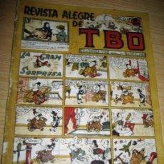 Tebeos: REVISTA ALEGRE DE TBO . LA GRAN SORPRESA . BENEJAM AÑO 1945 , VER ESTADO. Lote 259917515