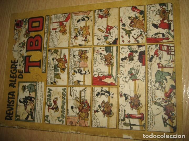 Tebeos: revista alegre de tbo . la gran sorpresa . benejam año 1945 , ver estado - Foto 2 - 259917515