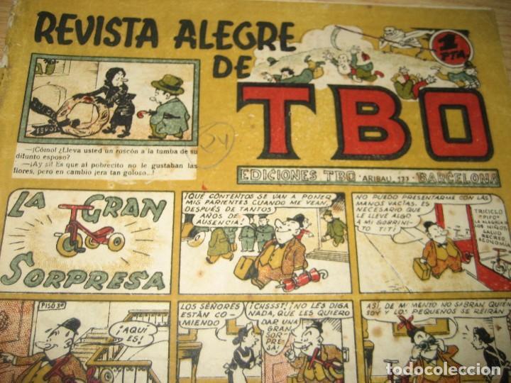 Tebeos: revista alegre de tbo . la gran sorpresa . benejam año 1945 , ver estado - Foto 3 - 259917515