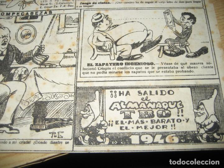 Tebeos: revista alegre de tbo . la gran sorpresa . benejam año 1945 , ver estado - Foto 10 - 259917515