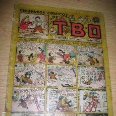 Tebeos: CHISPAZOS COMICOS DE TBO . A RUFINO LE ATERRORIZAN LOS MUERTOS . BENEJAM 1946 Nº 36?. Lote 259919265