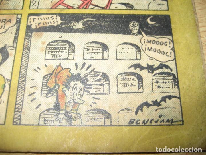 Tebeos: chispazos comicos de tbo . a rufino le aterrorizan los muertos . benejam 1946 nº 36? - Foto 5 - 259919265