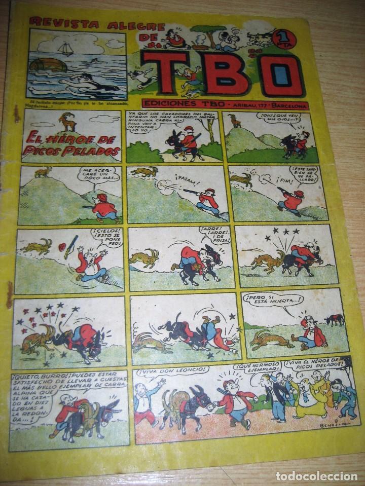 REVISTA ALEGRE DE TBO . EL HEROE DE PICOS PELADOS . BENEJAM AÑOS 40 (Tebeos y Comics - Buigas - TBO)